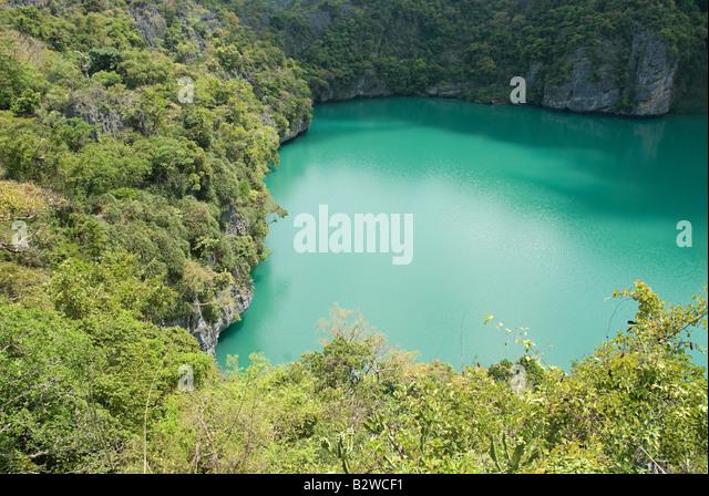 National marine park thailand - Stock Image