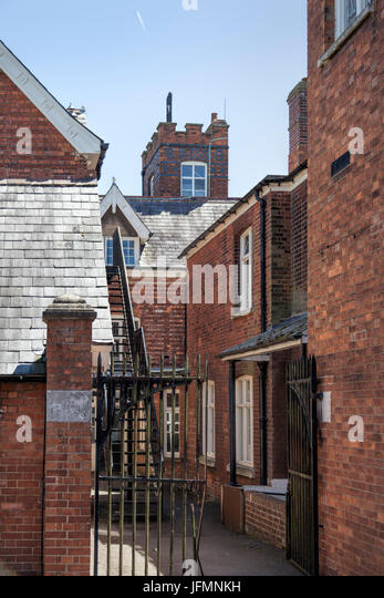 Bletchley Park, Buckinghamshire showing MI6 control Tower - Stock Image