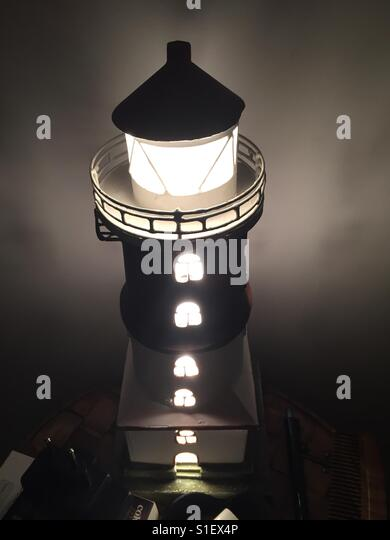 Captured a table lamp.. - Stock Image