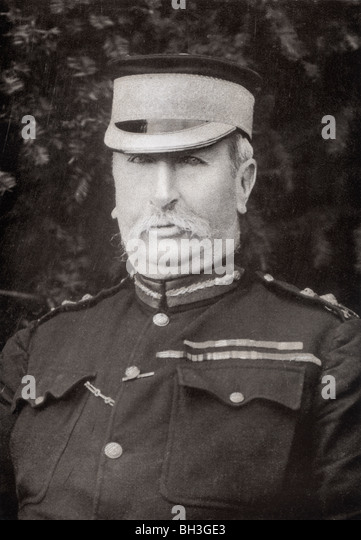 General Sir Redvers Henry Buller, 1839 to1908. British general. - Stock Image