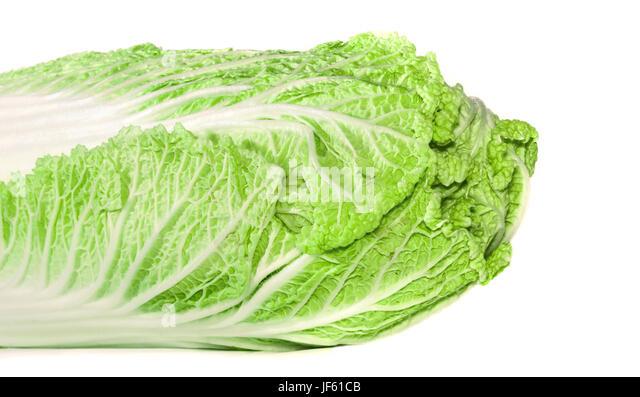 Tasty Chinese cabbage - Stock Image