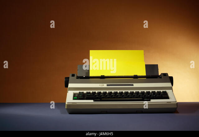 Electrical Office Equipment : Office equipment electric typewriter stock photos