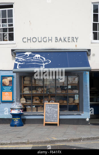 The Award Winning Chough Bakery and Pasty Shop, Foreshore, Padstow, Cornwall - Stock Image