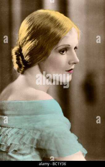 Ann Harding (1901-1981), American actress, 20th century. - Stock Image