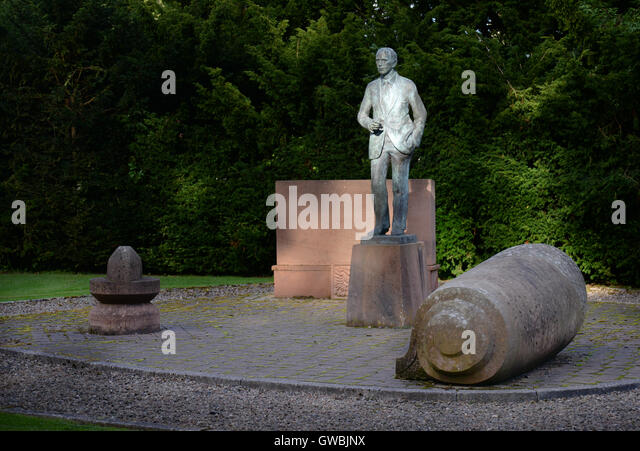 Lord Home Memorial, The Hirsel, Coldstream - Stock Image