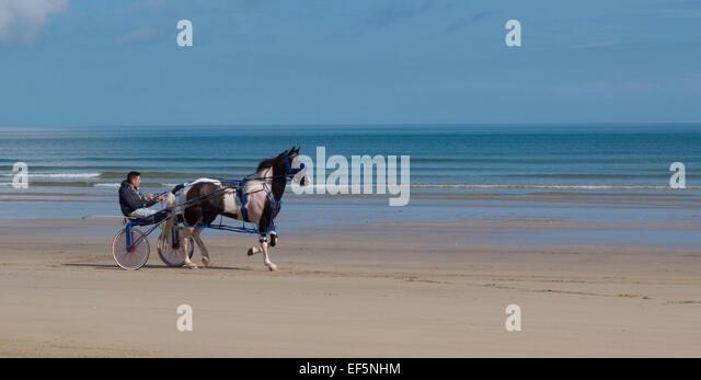 Benone Strand Northern Ireland - Stock Image
