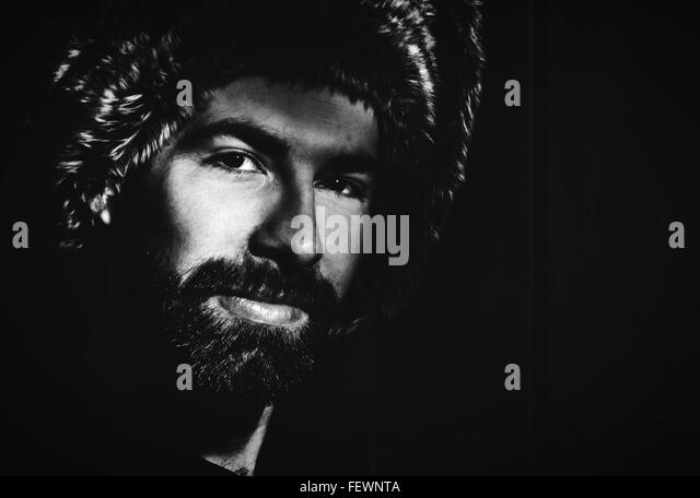 Portrait Of Smiling Young Man - Stock Image