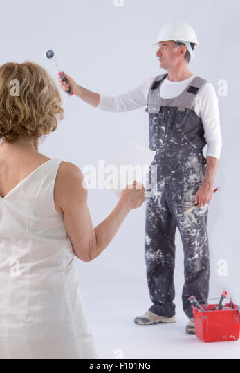 PAINTER - Stock Image