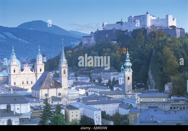 Salzburg, Austria - Stock Image