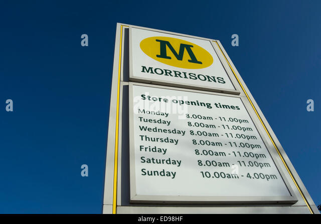 Morrisons Malvern Cafe Opening Times