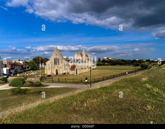 Royal Garrison Church, Portsmouth, Hampshire (taken from public highway) - Stock Image
