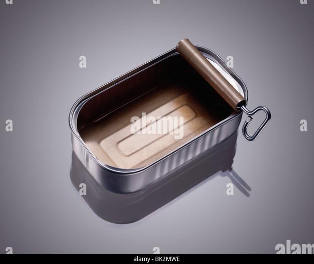 Sardine can stock photos sardine can stock images alamy for Empty sardine cans