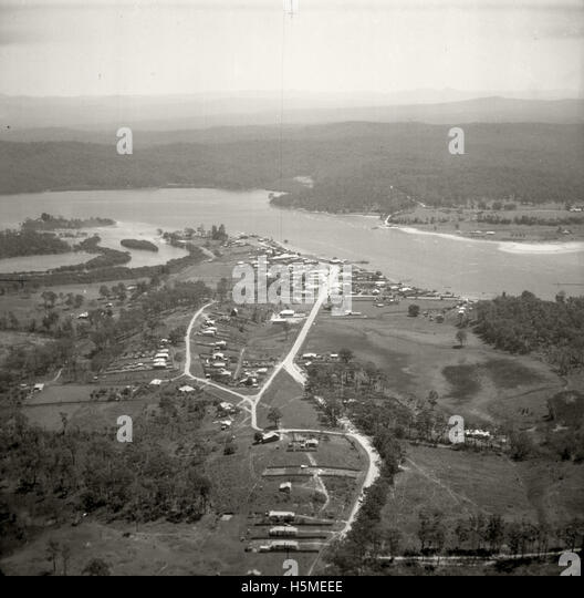 Batemans Bay - 17 Nov 1937 - Stock Image