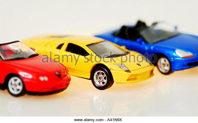Spielzeugautos stock photos images