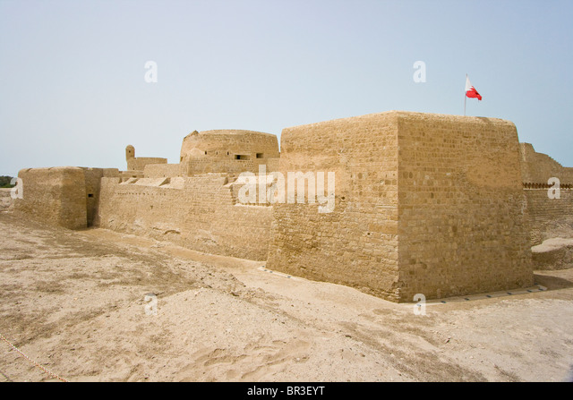 Bahrain Fort, Bahrain - Stock Image