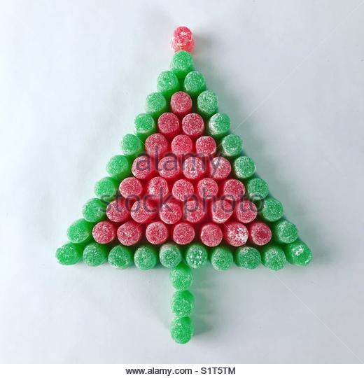 Gumdrop Christmas 🎄 - Stock Image