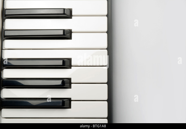 Piano keys - Stock-Bilder
