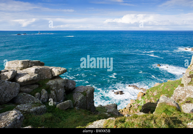 Land's End, Cornwall, UK - Stock Image