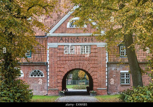 Gut Pronstorf, Schleswig-Holstein, Germany, Europe - Stock Image