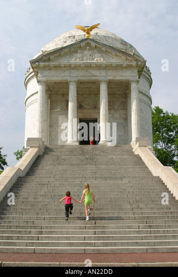 Mississippi Vicksburg National Military Park Civil War battle site - Stock Image