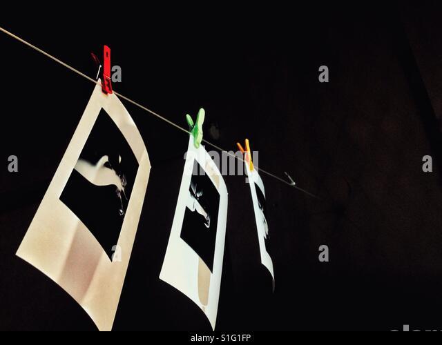 Analog photography. - Stock-Bilder