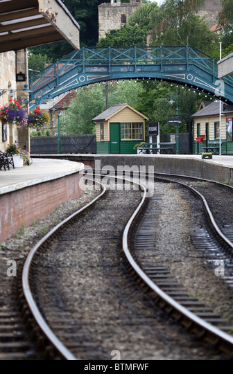 Pickering Train Station North Yorkshire England UK - Stock Image