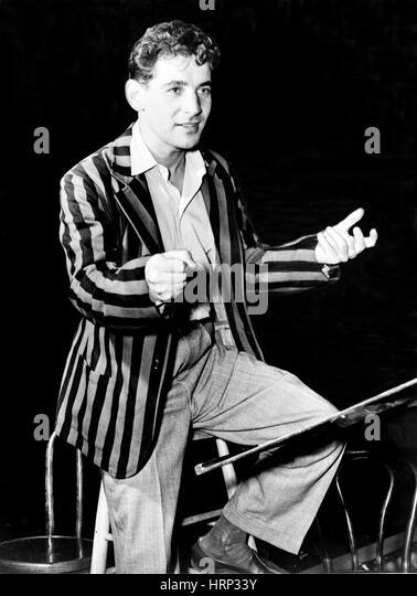 Leonard Bernstein, American Composer - Stock Image