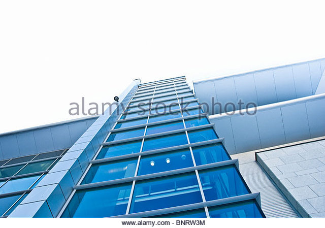modern building - Stock Image