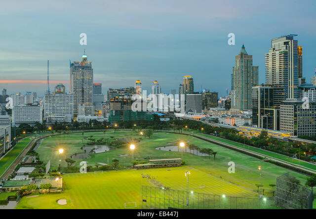 Park in city,Bangkok Thailand - Stock-Bilder