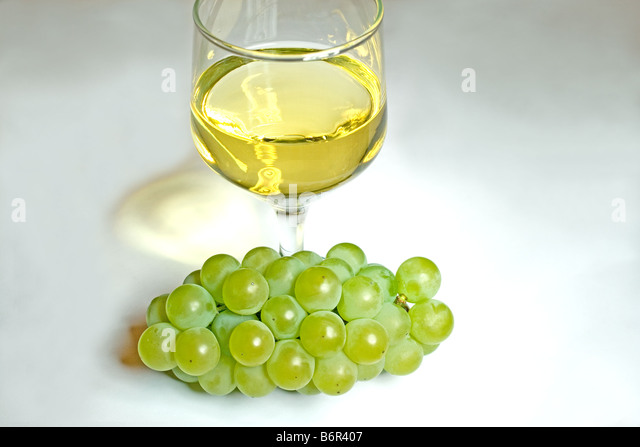 Juice Glass Painted Grapes
