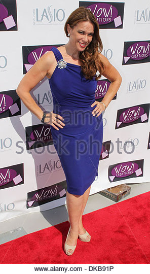 Chase Masterson WOW Emmy Gifting Suite - arrivals at Luxe Hotel Beverly Hills California - 19.09.12 - Stock Image