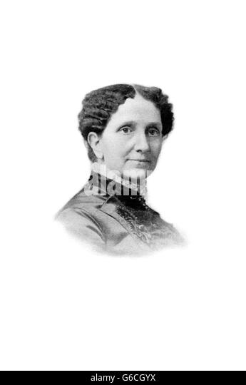 1880s PORTRAIT OF MARY BAKER EDDY FOUNDER OF THE CHRISTIAN SCIENCE CHURCH - Stock Image