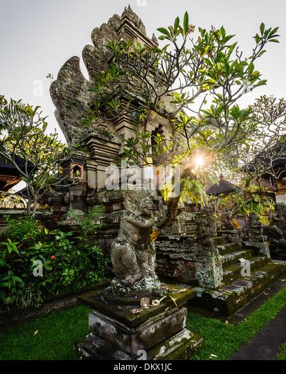 Pura Desa Temple, Ubud, Bali Indonesia, - Stock-Bilder