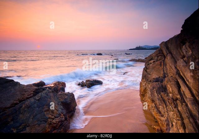 Patnem Beach, Palolem, South Goa, India, Subcontinent, Asia - Stock-Bilder