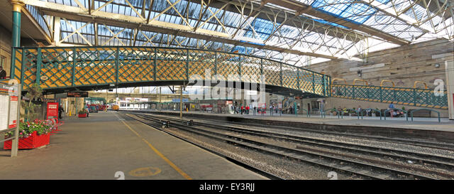 Carlisle Citadel Railway Station, Cumbria, England, UK - Stock Image
