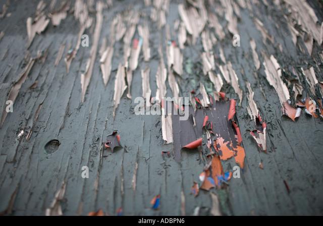 Peeling colour paint study decay textures - Stock-Bilder