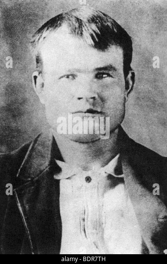 Butch Cassidy, American outlaw, 1894-1896 (1954). - Stock Image