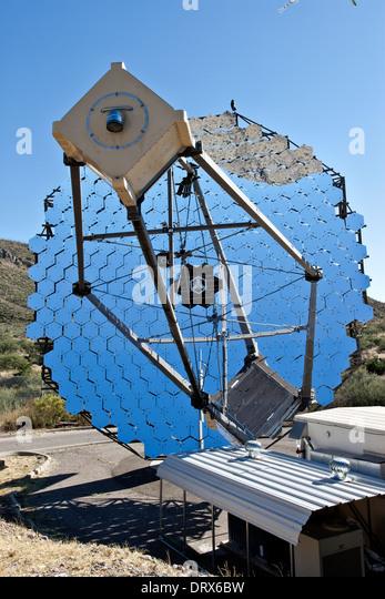 12m Gamma-ray reflector telescope, VERITAS. - Stock Image