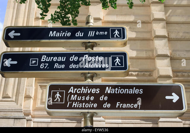 street signs france stock photos street signs france stock images alamy. Black Bedroom Furniture Sets. Home Design Ideas