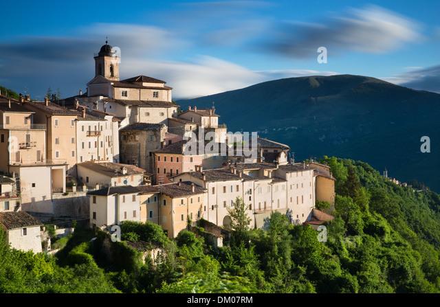 Abeto, Valnerina, Umbria, Italy - Stock Image