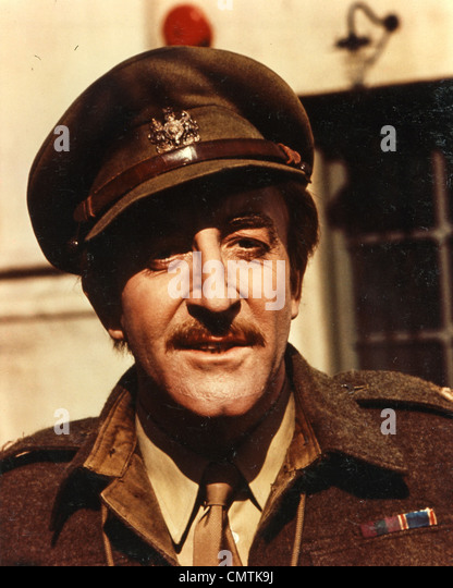 SOFT BEDS, HARD BATTLES 1974 Charter Films production with Peter Sellers as Major Robinson - Stock Image