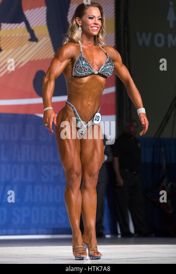 March 3rd 2017, Columbus, OH, USA;  Bethany Wagner (10) competes in Fitness International as part of the Arnold - Stock-Bilder