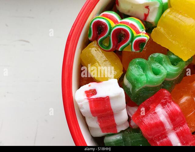 Christmas Candy - Stock-Bilder