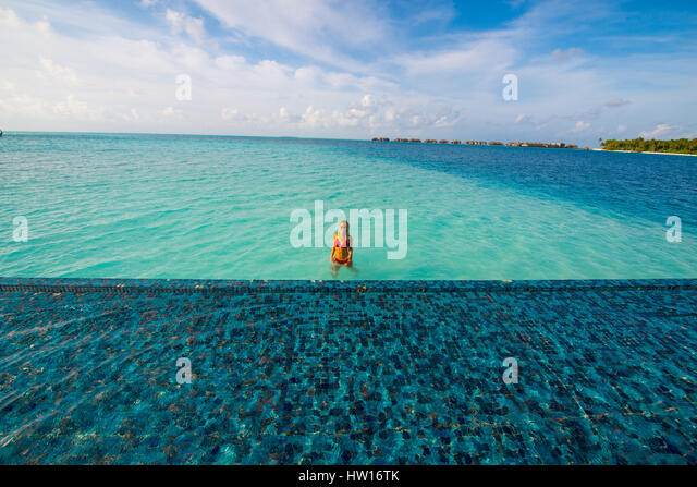 Woman Swimming View From Above Stock Photos Amp Woman