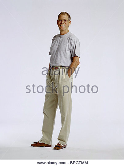 DAVID LETTERMAN THE LATE SHOW WITH DAVID LETTERMAN (1999) - Stock Image
