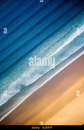 Sand & Sea - Stock Image