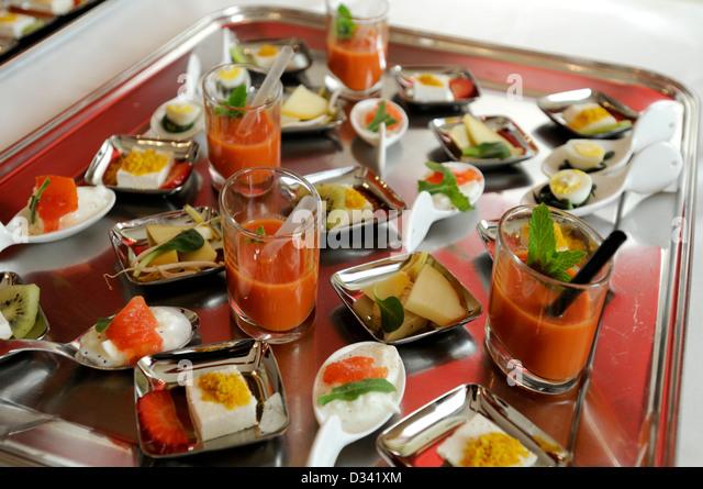 wedding buffet - Stock Image