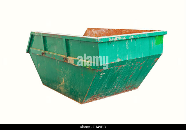 Waste container metal dumpster stock photos waste container metal dumpster stock images alamy - Garden waste containers ...