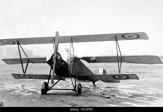 NIEUPORT 10 TRIPLANE  French First World War aircraft - Stock Image