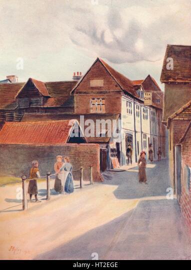 'The Markis of Granby, Dorking', 1912, (1914). Artist: James S Ogilvy. - Stock Image